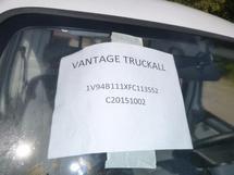 2015 VANTAGE TRUCKALL EVX1000