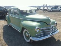 1942 PLYMOUTH DELUX