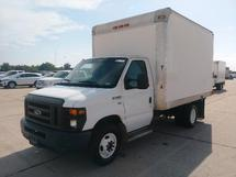 2012 FORD E350 12 FT DRY CARGO VAN