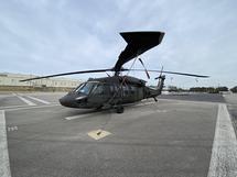 UH-60A BLACK HAWK, S/N:  82-23711