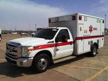 2012 FORD F350SD 4X2 AMBULANCE
