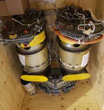 AIRCRAFT ENGINE - PRATT AND WHITNEY T400 TWINPAK