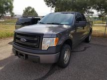 2014 FORD F150 EXTENDED CAB 4X4 TRUCK
