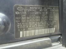 2006 HYUNDAI SANTA FE G