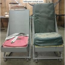 1 LOT OF 2 ROTARY WING AIRCRAFT COCKPIT SEATS