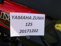 2017 YAMAHA ZUMA 125 SCOOTER