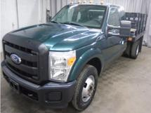 2011 FORD F350 STAKEBED TRUCK RWD