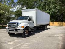 2011 FORD F750 BOX TRUCK