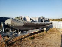 11-METER RIGID INFLATABLE BOAT W/TRAILER