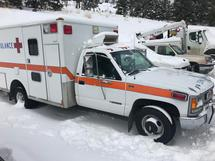 1995 CHEVROLET C3500 AMBULANCE