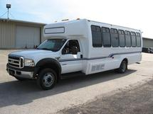 2007 FORD F550 24 PASS BUS