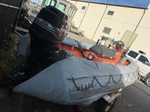 SMALL CRAFT, BOAT, SHIP   INFLATABLE BOAT W/ MOTOR