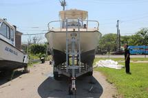 BOAT, HULL ONLY (OUTBOARD MOTOR SEPARATE)