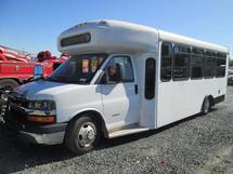 INOPERABLE 2010 CHEVROLET SPIRIT KNEELING BUS