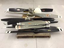 Scrap Aluminum Propellers