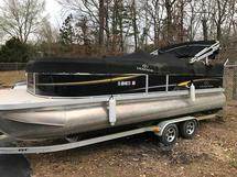 PONTOON BOAT AND TRAILER