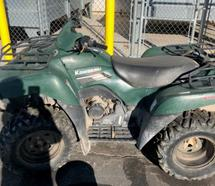 2007 KAWASAKI V-TWIN 4X4 OFF ROAD SCRAP ATV