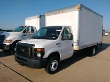 2012 FORD E350 14 FT DRY CARGO VAN W/ LIFT GATE