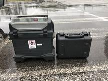VIDEOSCOPE AND TRANSCEIVER (1 LOT)