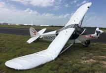 1977 PIPER PA 18 FIXED WING AIRCRAFT