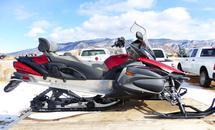 2009 YAMAHA RS VENTURE SNOWMOBILE