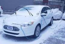 2014 FORD FOCUS HATCHBACK (ELECTRICAL CAR)