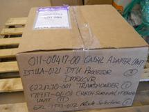 ONE LOT OF MISCELLANEOUS AIRCRAFT PARTS