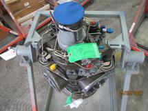 ENGINE AND STAND - LOT 615 (ARMY LOT 230)