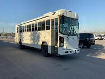 2010 BLUE ALL AMERICAN - 44PASS BUS
