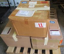BELL TRANSMISSION CASES (ARMY LOT 714)