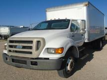 2007 FORD F750 BOX TRK WITH LIFTGATE