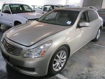 2007 INFINITY G6 (SOLD AS IS)