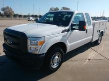 � TON EXT CAB UTILITY TRUCK, 2016 FORD F250 SD 4X2