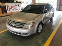 2009 FORD TAURUS -STRUCTURAL AND BODY DAMAGE