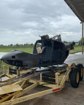 SCRAP RESIDUE OH-58A