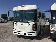 2011 BLUE ALL AMERICAN - 44 PASS BUS