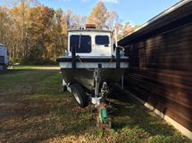 SEA ARK BOAT WITH MOTORS AND TRAILER