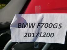 2017 BMW F700GS