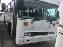 2009 BLUE ALL AMERICAN - 44 PASS BUS