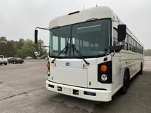 2010 BLUE ALL AMERICAN- 44 PASS ADULT WORK BUS