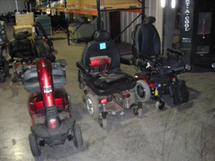 MOTORCYCLES, MOTOR SCOOTERS, AND BICYCLES