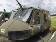 INCOMPLETE, NONFLYABLE UH-1H BELL, SN: 72-21474