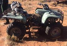 YAMAHA ATV - SALVAGE